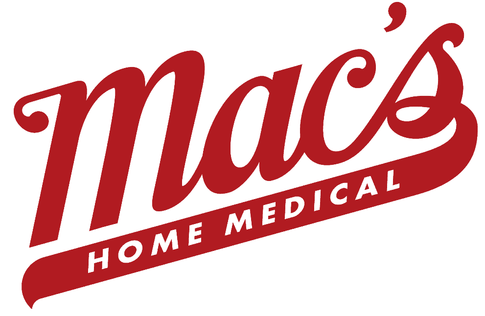 mac's pharmacy logo in red
