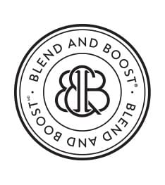 blend and boost logo